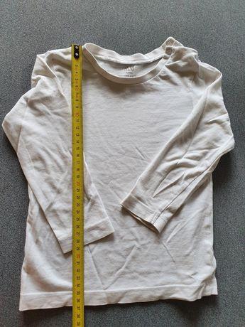 H&M bluzka r 86 biała