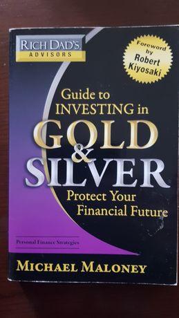 Guia de investimento em metais preciosos ouro e prata Rich dad advisor