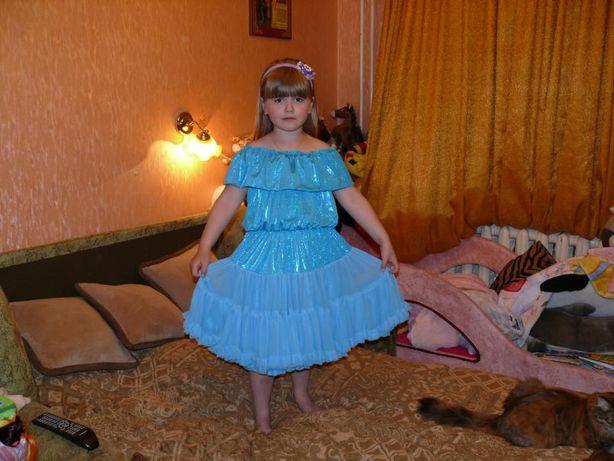 Нарядное платье р.116-134