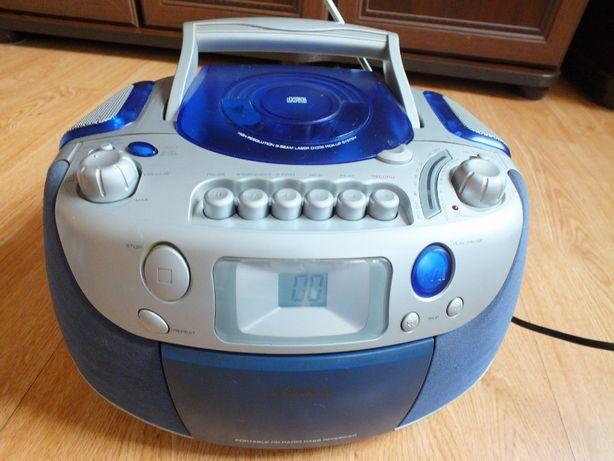 RadioOdtwarzacz AudioSonic CD-514 Radio CD + Kaseta BomBox