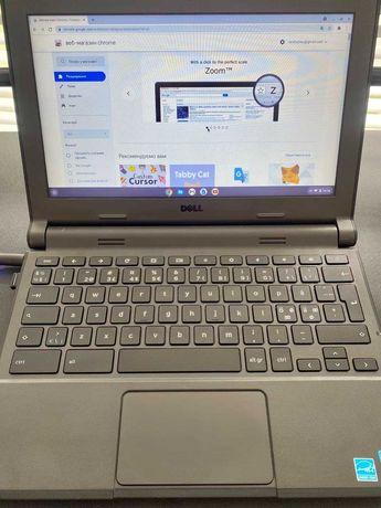 Нетбук ноутбук Dell Chromebook 11 Intel Celeron 2GB/16GB eMMC N2840