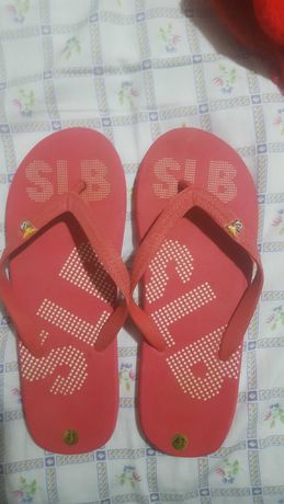Chinelos havaianas Benfica T41
