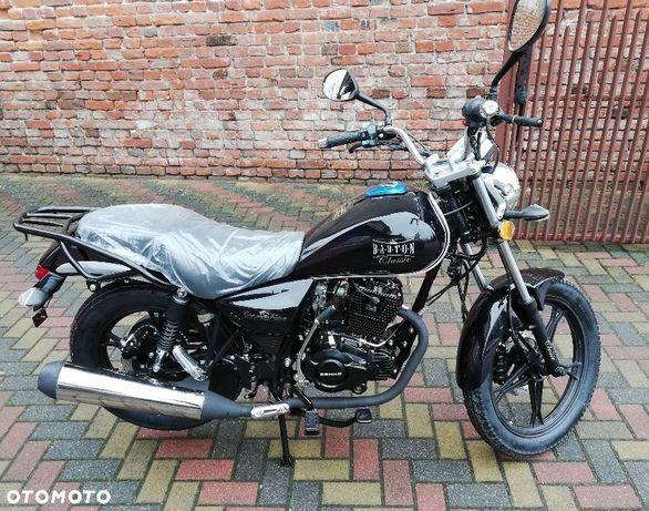 Barton  Barton CLASSIC motocykl 125ccm Rocznik 2020