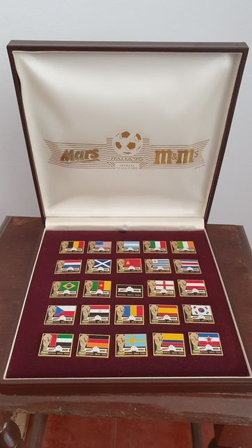 Colecção Pins Italia 1990