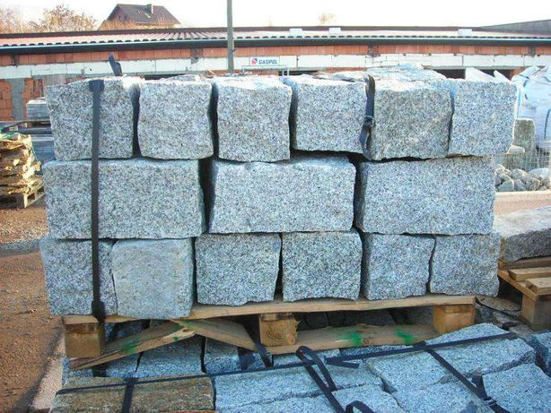 Granit kamień murowy bloczek granitowy opornik palisada kostka brukowa