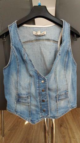 Kamizelka jeans rozmiar s