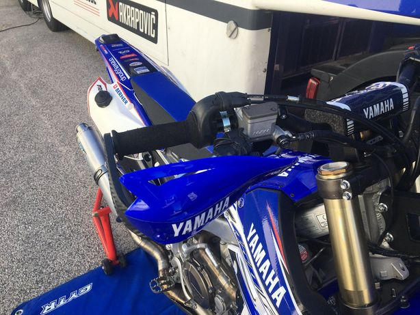 Yamaha WR 450 Rally Raid
