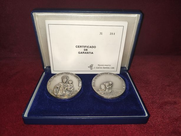 Medalhas 800 Anos do Nascimento de Santo António 1195 a 1995