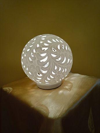 Lampka nocna - porcelana