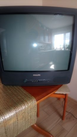 "TV 21"" PHILIPS kineskopowy."