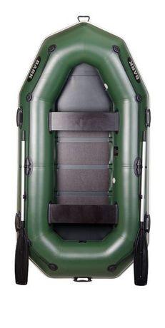 Лодка новая надувная двухместная Bark В-270P човен надувний.