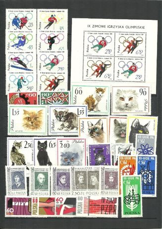 sprzedam polskie znaczki okres PRL