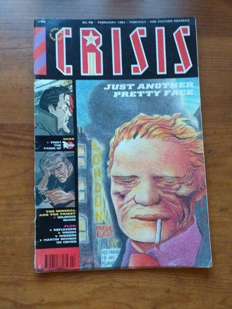 2000 AD prezentuje komiks CRISIS Nr 55