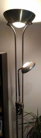 Lampa podłogowa ze ściemniaczem jak nowa gratis żarówki