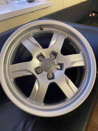 Оригинальные кованные диски Audi A5 R17 ориг. номер 8T0 601 025 B