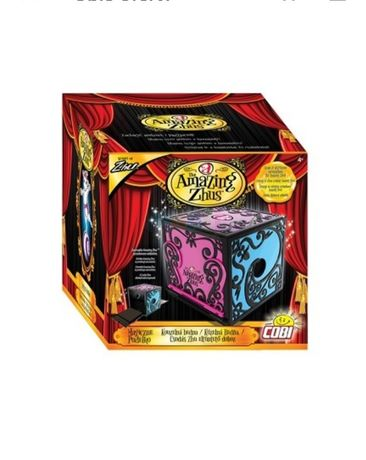 Nowe Magiczne pudełko Amazing Zhus MAGIA ZNIKANIE COBI magik sztuczka