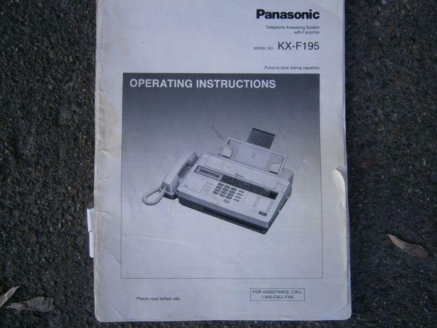 Телефон-факс PANASONIC-RX-F195