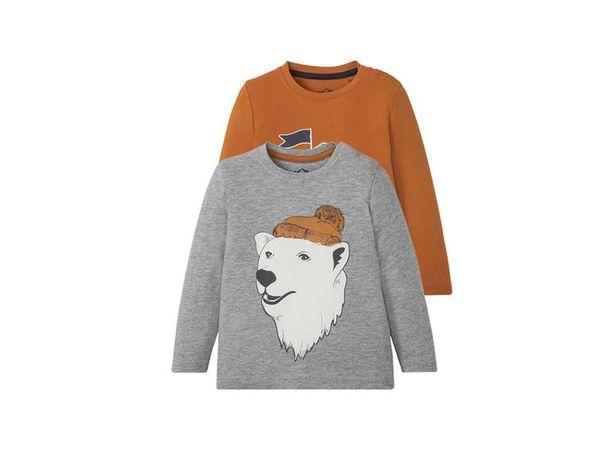 Лонгслів (футболка з довгими рукавами) LUPILU® для хлопчиків 4-6 років