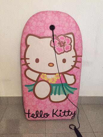 Prancha body board hello kitty