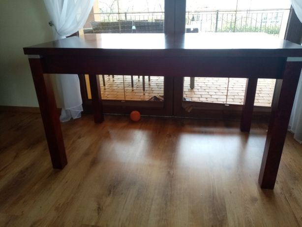 Stół rozkładany mahoń