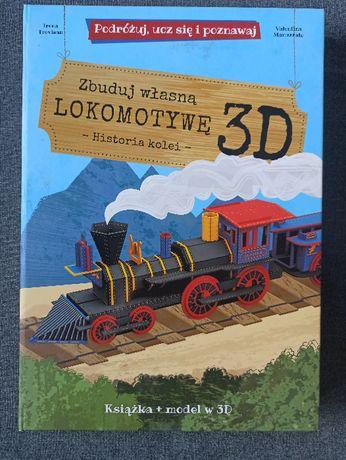Zbuduj własną lokomotywę 3D Podróżuj ucz się i poznawaj Tania wysyłka