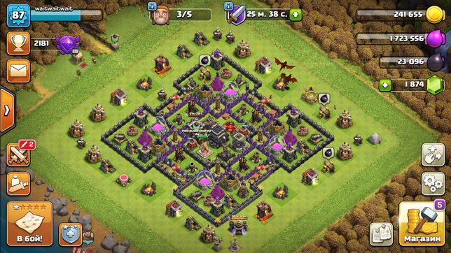 Clash Of Clans 9TH account