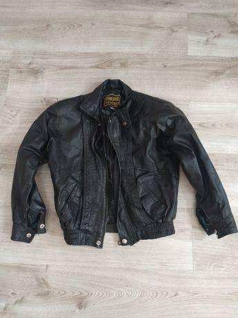 Куртка кожаная демосизонная