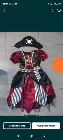 Strój piratki dziewczynka