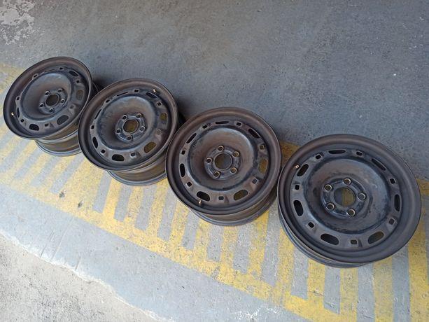 Диски Skoda VW 5*100 R14 ET 43 DIA 57,1