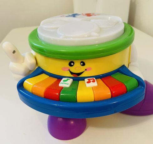 Барабан + пианино Игрушки