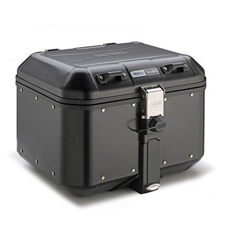 Kufer GIVI DLM46B TREKKER DOLOMITI 46L, czarny Aluminiowy - MONOKEY