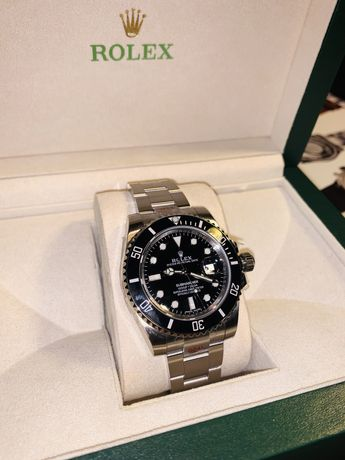 Rolex Submariner Date 116610 LN SS Black Dial Swiss 3135