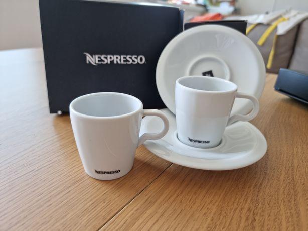 4 Nespresso Chavenas Brancas