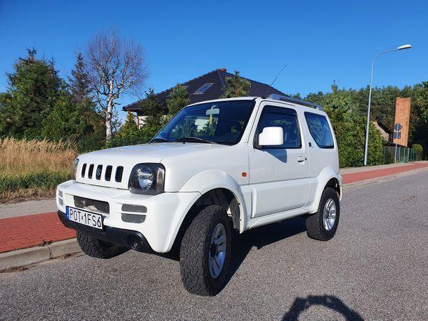 Suzuki jimny wersja Black&White biala perła 1.3 benzyna6