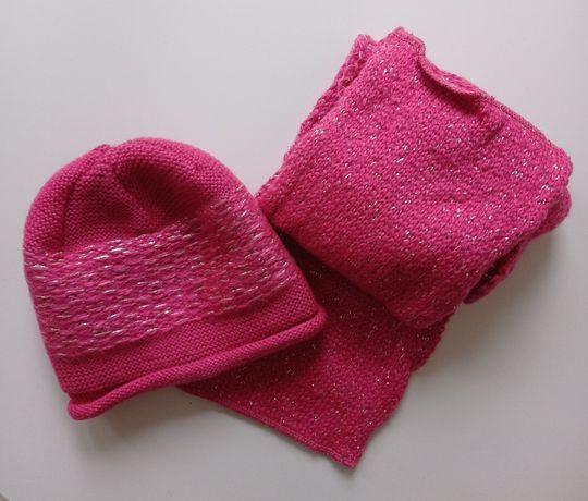 NOWY komplet Monnari: czapka + szalik.