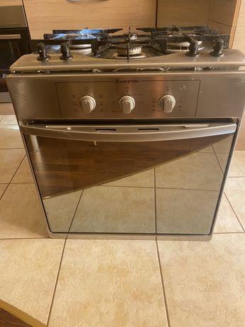 Газова плита з електро духовкою + витяжка Б/У