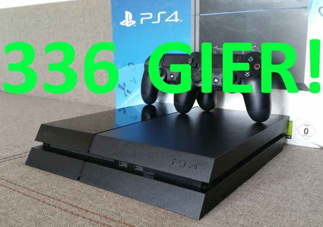 336 GIER! FIFA21! LEGO NFS UFC GWARANCJA konsola PS4 PlayStation / Pro