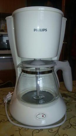 Новая капельная кофеварка PHILIPS +фильтр-пакеты в подарок