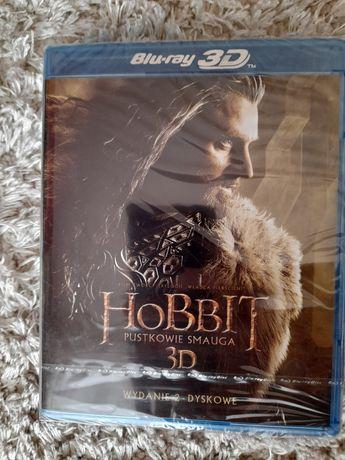 Blu-ray 3D Hobbit Pustkowie Smauga OFOLIOWANE