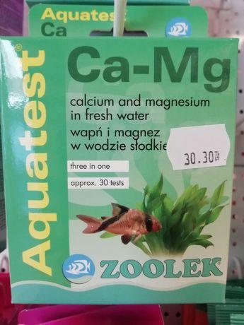 Aquatest Ca-Mg, sprawdza poziom magnezu i wapnia w akwarium