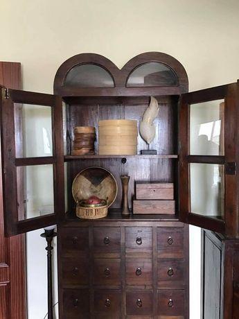 vitrine, contador, armario, louceiro, livreiro,  rustico, oriental