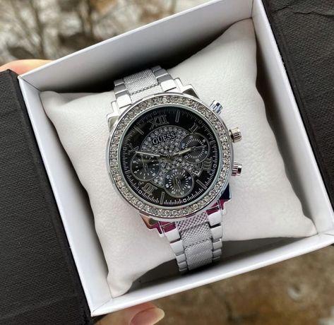 Часы люкс качество в серебре женские