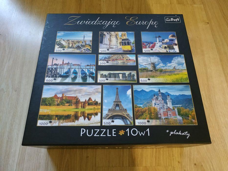 Puzzle Trefl 10 w 1 Sosnowiec - image 1