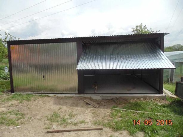 garaz dwustanowiskowy , blaszak , producent