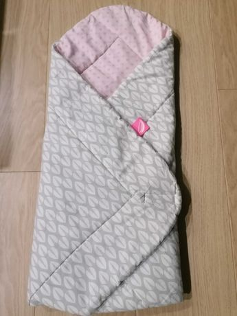 Różek niemowlęcy Motherhood bawełna różowe drzewka