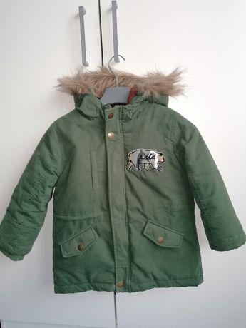 Zimowa kurtka chłopięca 104