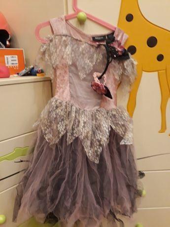 Sukienka karnawałowa wróżki 122 -134