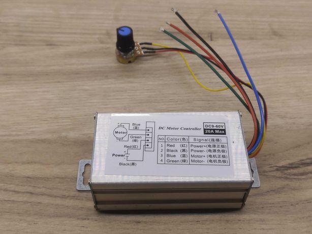 ШИМ регулятор оборотов в корпусе 9 - 60 вольт 20А