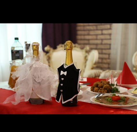 Прикраси для весілля/наряд для шампанського