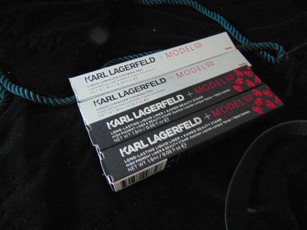 Karl Lagerfeld rozświetlacz Liquid LUMINIZER STROBING pen opal
